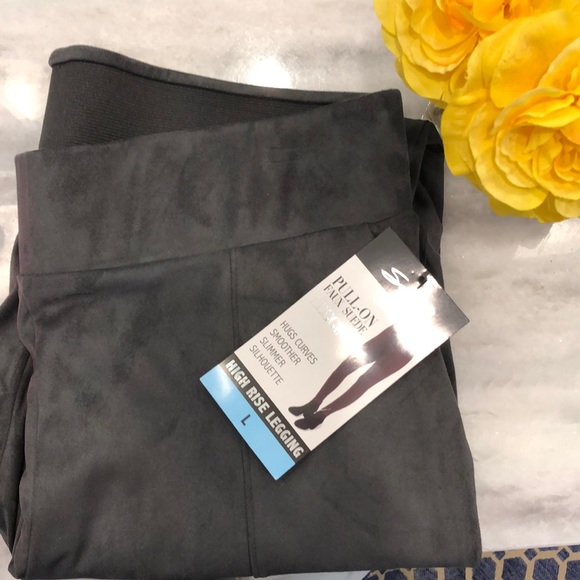 7903341782a6a Seven7 Pants | Seven 7 Jeans Pull On Faux Suede Leggings Grey | Poshmark